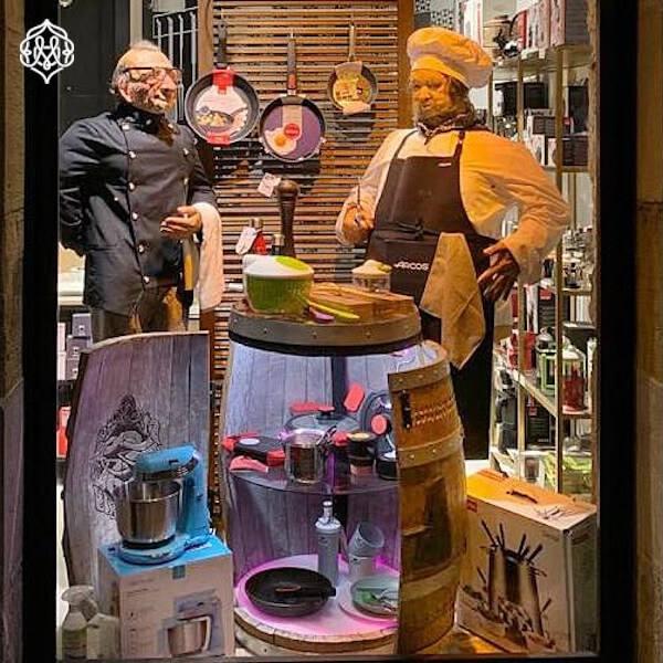 Escaparate y Decoracion Comercial Mario Echevarria: Hostelería-COOK - Donostia