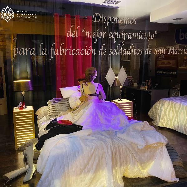 Escaparate y Decoracion Comercial Mario Echevarria: Hogar-BED'S - Irún