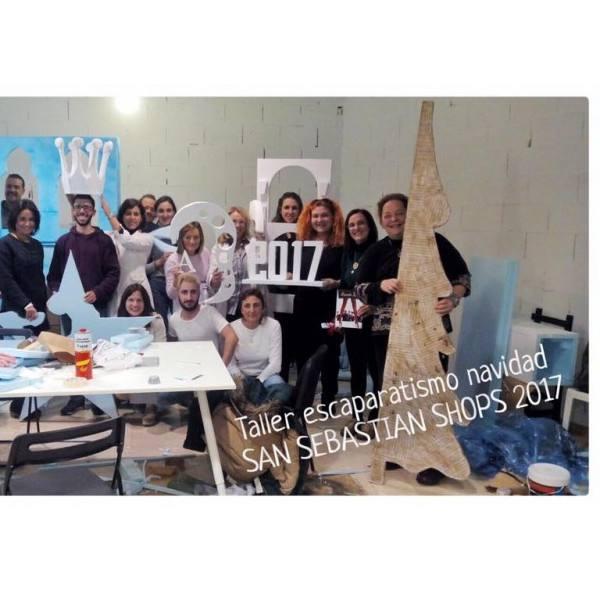imagen noticia: Nuevo taller de escaparatismo para SAN SEBASTIÁN SHOPS