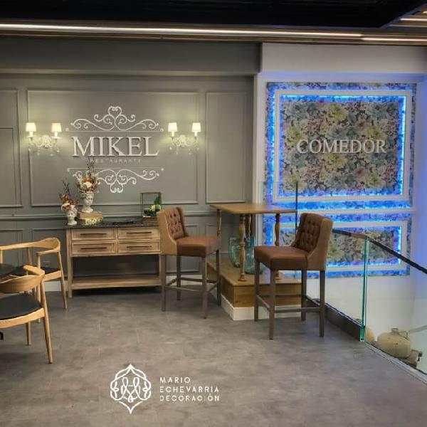 imagen noticia: La nueva entrada del restaurante MIKEL ya está terminada
