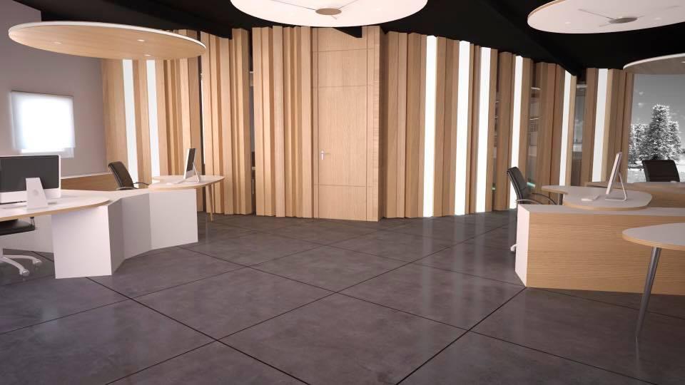 Foto noticia 3D del proyecto de reforma para las oficinas de IPARFRÍO